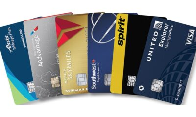 Airline points credit cards